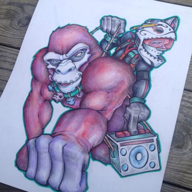 red-ape-sean-kernick-seano-art