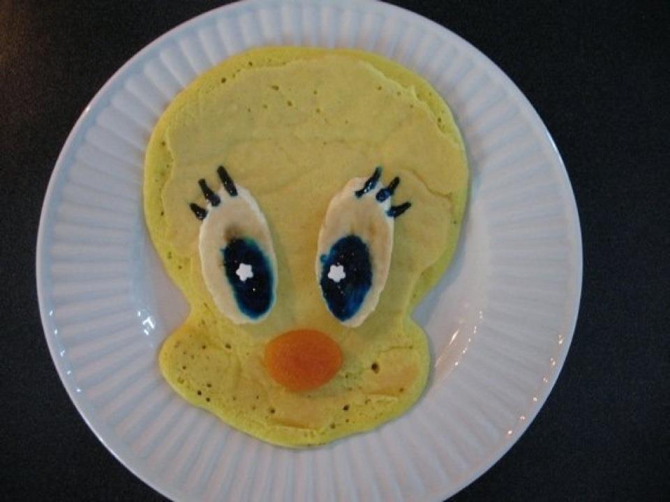 tweety-pancakes