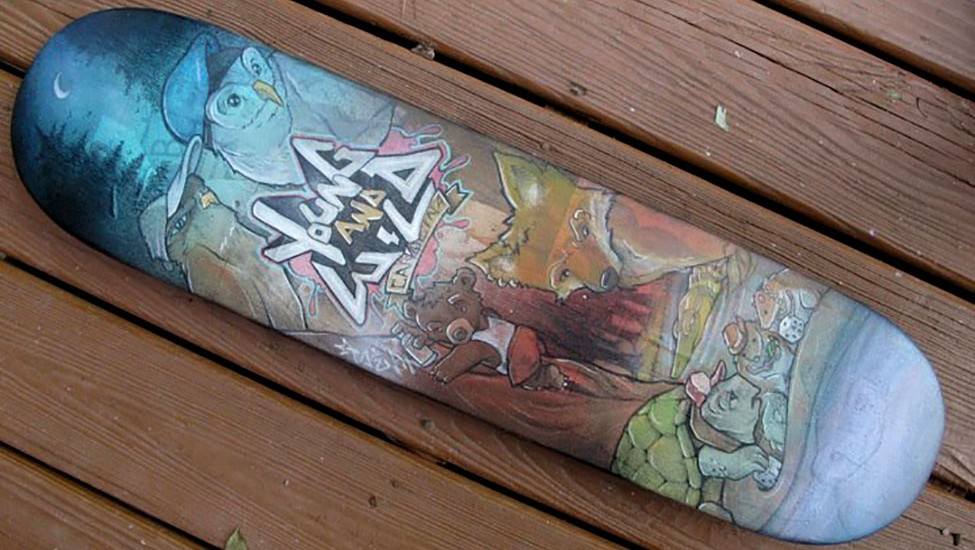 young-wild-skate-deck-seano-illustration-large